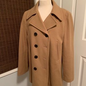 JCrew Wool Peacoat with Thinsulate Large